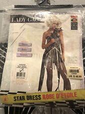 New Lady Gaga Star Dress Woman Costume Standard