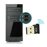 USB 2.0 Bluetooth 5.0 Wireless Dongle Receiver Adapter For PC Laptop Computer