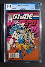G.I. JOE IN 3-D #1 Blackthorne 3-D #20 Comic 1987 Raptor Cobra Zombies CGC 9.8