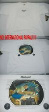 New Mens Rick RIETVELD USA LARGE Channel Surfer White Surf T Shirt Last Units