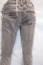 Hurley 81  Very Skinny Leg Size 25  Denim Light Brown Jeans New