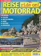 RM0305 + BMW R 1150 RT vs. DUCATI Multistrada und andere + REISE MOTORRAD 5 2003