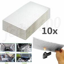 1cm Self-adhesive Car Hood Door Heat Shield Foil Mat Noise Deadener Foam 30x50cm