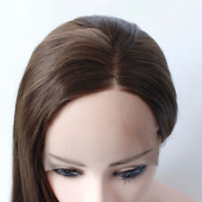 AU STOCK Fashion Heat Resistant Brown Wig Straight Synthetic Lace Front Wigs
