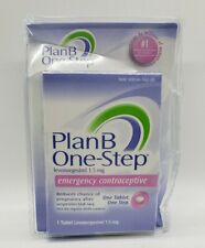 Plan B One-Step Emergency Contraceptive levonorgestrel 1.5mg Exp 9/2022 dented