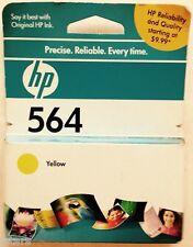 (1) HP 564 YELLOW INK CARTRIDGE, CB320WN, OPTION 140, HP PHOTOSMART, NOS
