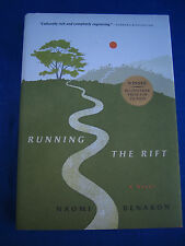 Running The Rift by Naomi Benaron SIGNED 1st/1st 2012  HCDJ Bellwether Prize