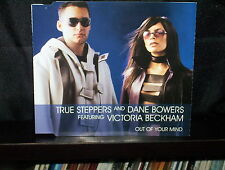 TRUE STEPPERS and DANE BOWERS OUT OF YOUR MIND - RARE AUSTRALIAN CD SINGLE NM