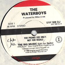 The Waterboys - The Big Music - 1984 Ensign UK Import 7 Inch Record NEW