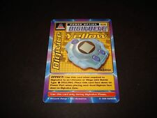BANDAI DIGIMON CARD ST-62 DIGIVICE YELLOW-1ST EDITION-GREAT CONDITION