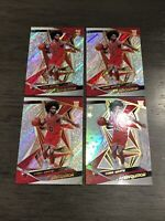 2019-20 Panini Revolution Coby White Rookie Lot (4) Astro & Base Chicago Bulls