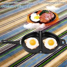 Double Side Folding Non-stick Frying Pan Omelette Egg Breakfast Cookware