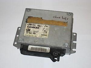 Motorsteuergerät ohne WFS Opel Calibra A 2.0 16V 136PS X20XEV 90506400 TH