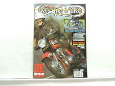 March 1995 Classic Bike Magazine Honda Triumph Thunderbird BSA C15 B6220