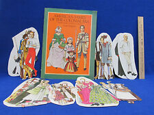 Paper Doll American Family Colonial Era Full Color 1983 Book 7 People