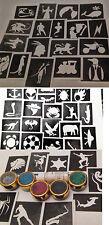 Garçons x 20 tatouage ensemble gabarit pour tatouages / art corporel 5 couleurs