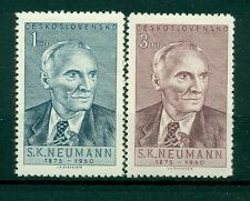 ECRIVAINS - WRITERS CZECHOSLOVAKIA 1950 S. K. Neumann