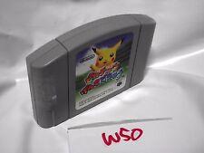 Free Shipping Hey You, Pikachu Genki De Chu (Nintendo 64 1998) Japan Version W50