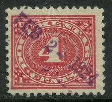 Us revenue Documentary stamp scott r231 - 4 cents issue of 1917 - #3