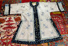 Gorgeous Antique Late 19th Century Chinese Forbidden Stitched Robe