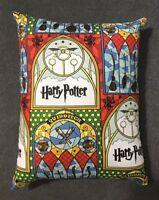 "Beautiful Handmade Harry Potter Hedwig Accent Throw Pillow 13"" x 10"""