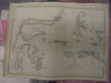 Celebes and Molucca Islands cir1863 Dispatch Atlas- drawn byE.WellerFramed20more