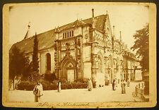 Foto c1900 Abadía de Hautecombe Lago de la Bourget Fotografía antigua 16cm