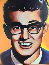 Large Mid Century Buddy Holly 1950's Diner Restaurant Pop Art TV Picture