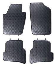Gummimatten Gummi Fußmatten für Seat Ibiza 5 V 6J 2008-2016 Komplettset