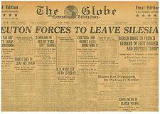 IRISH WAR MAY 24 1921 ULSTER ELECTION RIOTS OLD NEWSPAPER 0610133WQ B7