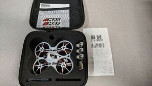 EMAX Tinyhawk Brushless Micro Drone Whoop + Case + Charger, indoor flies GREAT!!
