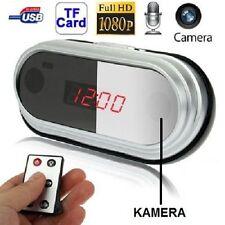32GB WECKER UHR SPION VERSTECKTE FULL HD MINI SPYCAM KAMERA VIDEO GETARNTE - A44