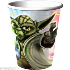 Star Wars Clone Wars Paper Drink Cup Birthday Party Supplies free shipping