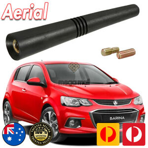 Antenna / Aerial Stubby Bee Sting for Holden Barina Black Flexi Rubber 8CM