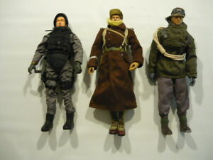 1/6 Scale Figures (3) & Accessories Combo: DiD /Soldier Story /BBi /Very Hot /++