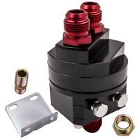 Aluminum Oil Filter Relocation Fitting AN10 Adapter Kit 3/4X16 20X1.5  M20 Block