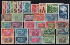 P137202/ FRENCH IVORY COAST – YEARS 1922 - 1944 MINT MNH / MH – CV 115 $