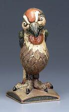 BURSLEM POTTERY GROTESQUE BIRD THE JUDGE EX COBRIDGE INSPIRED BY MARTIN BROTHERS