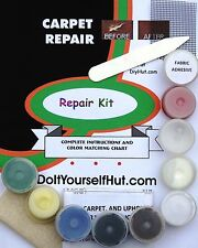 Do-It-Yourself Carpet Rug Repair Kit Automobile Seat Car Upholstery hole rip fix