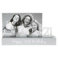 Happy 21st Birthday 21 Photo Frame New Boxed 291071