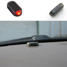 Simulation Car Alarm Security System Solar Energy Auto Warning Theft Flash Light