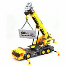 Camion grue jouet de construction en blocs 380 pièces