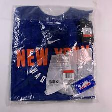 Nike NBA New York Knicks Blue Practice Long Sleeve Performance T-Shirt size L