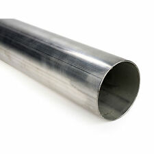 "Squirrelly 3"" 304 Stainless Steel Straight Pipe Tubing 16 Gauge Exhaust (3FT)"