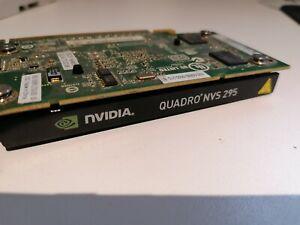 NVIDIA Quadro NVS 295 Dual Displayport PCI-E graphics card 256MB LOW PROFILE