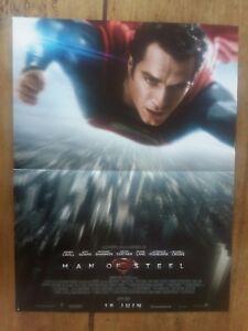 Poster Man Of Steel Super Man Zack Snyder Henry Cavill Amy Adams 40x60cm