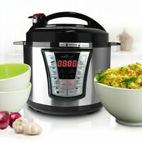 NutriChef PKPRC66 Pressure Cooker / Rice Cooker  Multi-Function Food Prep