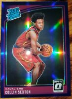 Collin SEXTON Cleveland CAVALIERS 🏀 2018-19 OPTIC PURPLE PRIZM RC ROOKIE CARD