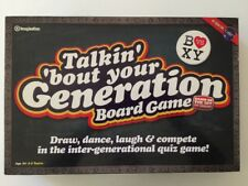 Talkin' 'bout Your Generation Board Game Based on the Hit TV Show 2009 COMPLETE