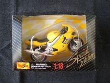 Triumph Daytona TT600 - 1/18 - Maisto Special Edition - 39355 - OVP - RARITÄT!